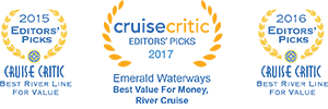 AWARD-WINNING DELUXE EUROPEAN RIVER CRUISES